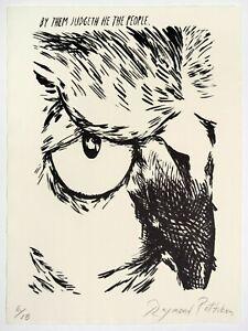 Raymond Pettibon: Untitled (By them Judgeth), 2018. Signed, Numbered, Art Print