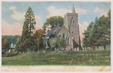 Wiltshire postcard - Bemerton Church - Peacock No. P5234