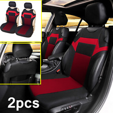 2pc Front Car Seat Covers Breathable Seat Protectors For Interior Accessories