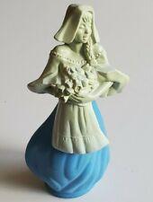 Avon Vintage Blue Flower Maiden Decanter Topaze Cologne