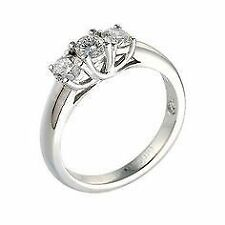 Ernest Jones Engagement Round Fine Diamond Rings