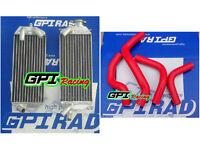 radiator&red HOSE Suzuki DRZ400 2003 03/DRZ400E 2004 2005 2006 2007 04 05 06 07