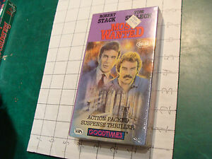 Factory Sealed VHS: MOST WANTED robert stack, tom selleck: 1986 color 74min