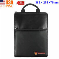 US 365×275mm Fireproof Waterproof Bag A4 Document Battery Cash Passbook Security
