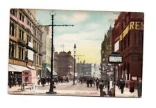 Yorkshire - Leeds, Boar Lane - 1900's Wrench Series Postcard