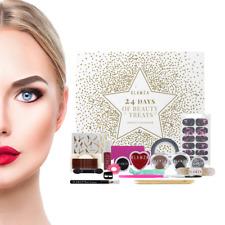 24 Day Advent Calander Calendar Make Up Makeup Colours Eyeshadow Eye Shadow Kit