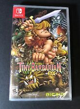 Tiny Barbarian DX (Nintendo Switch) NEW