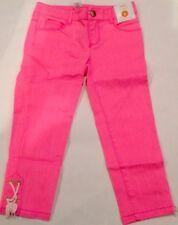 NWT GYMBOREE Pink Cropped/Capri Pants ADJ WAIST Girl 6