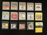 Nintendo Game Boy 15 Games Bundle-Donkey Kong, Mario, Yoshi, Kirby...- JP Import