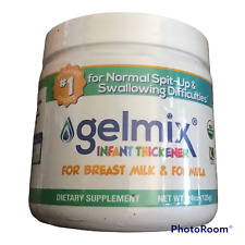 Gelmix Infant Thickener for Breast Milk & Formula, 4.4 oz Jar