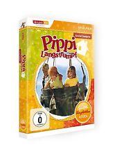 Astrid Lindgren: Pippi Langstrumpf - Spielfilm-Komplettbox DVD NEU DEUTSCH