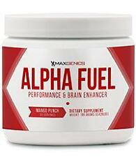 MaxGenics Alpha Fuel Performance and Brain Enhancer Powder NEW SEALED