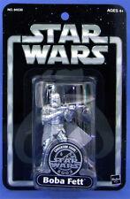 STAR WARS - 25th Anniversary - Silver Boba Fett- Hasbro - selten