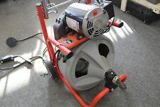 Ridgid K 400 T2 Drum Drain Snake Cleaning Machine