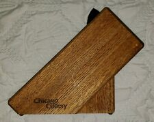 New ListingNice Vintage Chicago Cutlery Knife Block 9-Slot + Cooking Shears Holder