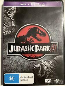 JURASSIC PARK 3 - DVD Region 4 - Sam Neill VERY GOOD CONDITION