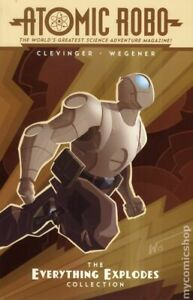 Atomic Robo The Everything Explodes Collection TPB #1-1ST NM 2015 Stock Image