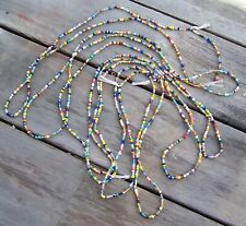 5 strands African trade Christmas Beads