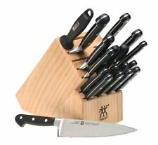 Zwilling J.A. Henckels Twin Pro-S 18-Piece Knife Set with Block