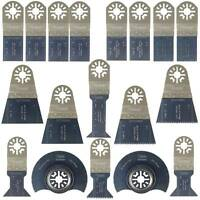 Sabrecut 18 Premium Blades for Fein Multimaster Bosch Ryobi Challenge Multitool