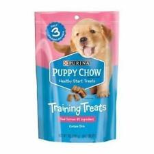 Purina Puppy Chow Healthy Start Treats Training Treats Real Salmon #1 Ingredie