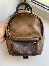Louis Vuitton mini backpack reversed