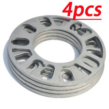 AUTO 4x Universal 5MM Alloy aluminum Wheel Spacers Adaptor Shims Plate 4/5 Stud