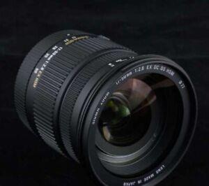 Sigma 17-50 mm F2.8 DC OS HSM EX Monture Nikon Objectif Photo Fonction Zoom Neuf