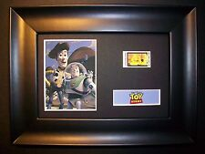 Toy Story Framed Movie Film Cell Memorabilia - Compliments poster dvd book