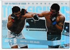 Tyson Griffin Rafael Dos Anjos 2010 Topps UFC Main Event Top 10 Fights 2009 # 26