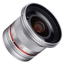 Samyang 12mm F2.0 NCS CS Fuji X Mount Silver - Ex-Demo