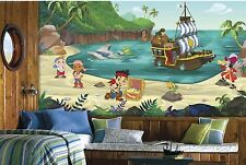 JAKE AND THE NEVERLAND PIRATES PREPASTED WALLPAPER MURAL Disney Wall Decor