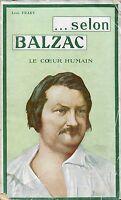 Léon Frary = ... SELON BALZAC LE COEUR HUMAIN