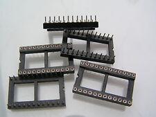 """Precidip Pin tornito presa IC Open Frame 28 VIE 0.6"""" larghezza 5 PEZZI OLA2-07"""