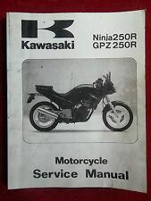 Service Manual KAWASAKI 1986 - 1987 NINJA 250R GPZ250R GPZ 250 R k332
