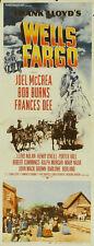 Wells Fargo Joel McCrea Bob Burns Western movie poster print
