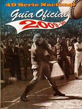 GUIA OFICIAL BEISBOL Baseball Guide Pelota 49 Serie Nacional 2009-10 Cuba Cuban