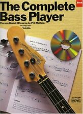 """THE COMPLETE BASS PLAYER BOOK 2"" MUSIC BOOK/CD-BRAND NEW ON SALE-EXTREMELY RARE"