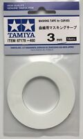 Tamiya 87178 Masking Tape for Curves 3mm Width NIP
