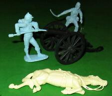 MARX CENTENNIAL 5929 CIVIL WAR SET....FEDERAL ARTILLERY AND DEAD CREAM HORSE
