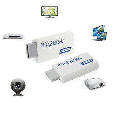 Wii to 1080P HDMI Upscaling Full HD Converter Adapter with 3.5mm Audio Output