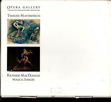 Opera Gallery Singapore 2 Catalogs iBox Timeless Masterpieces Richard MacDonald