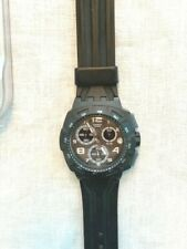 Swatch SUSA401 Gordon Chronograph Watch with Silicone band