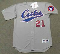 info for b8580 45981 SAMMY SOSA Chicago Cubs 1996 Majestic Throwback Away ...