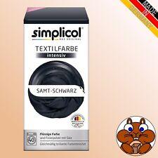 Simplicol Textilfarbe - Samt-Schwarz