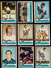 1974 O-Pee-Chee Team LOT of 19 New York ISLANDERS EX/MT OPC POTVIN (R) NYSTROM