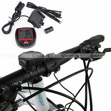 Cycling Bike Bicycle LCD Digital Cycle Computer Odometer Speedometer Waterproof