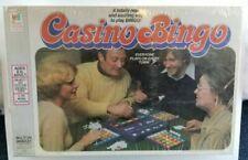 Vtg Casino Bingo Milton Bradley 1978 Board Game MB 4819
