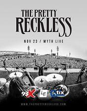 The Pretty Reckless 2016 Minneapolis Concert Tour Poster - H 00004000 ard/Alt Rock Music