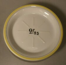 French Absinthe / Drink Porcelain Vintage Cafe Dish
